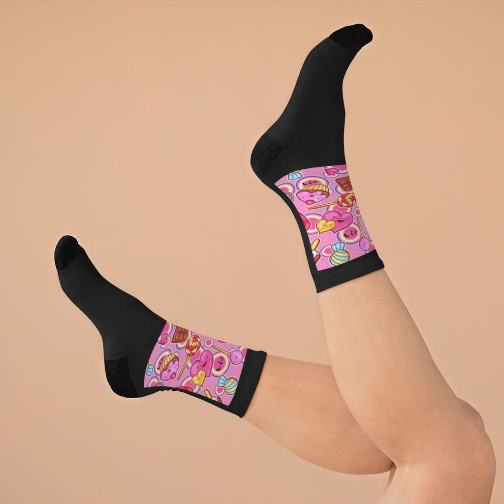 Five Toes Down Sweets Socks