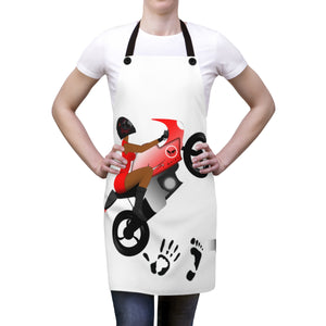 Five Toes Down Lady Rider Apron