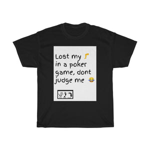 Five Toes Down Poker Game Unisex Tee