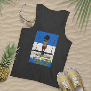 Five Toes Down Balance Men's Tank Top