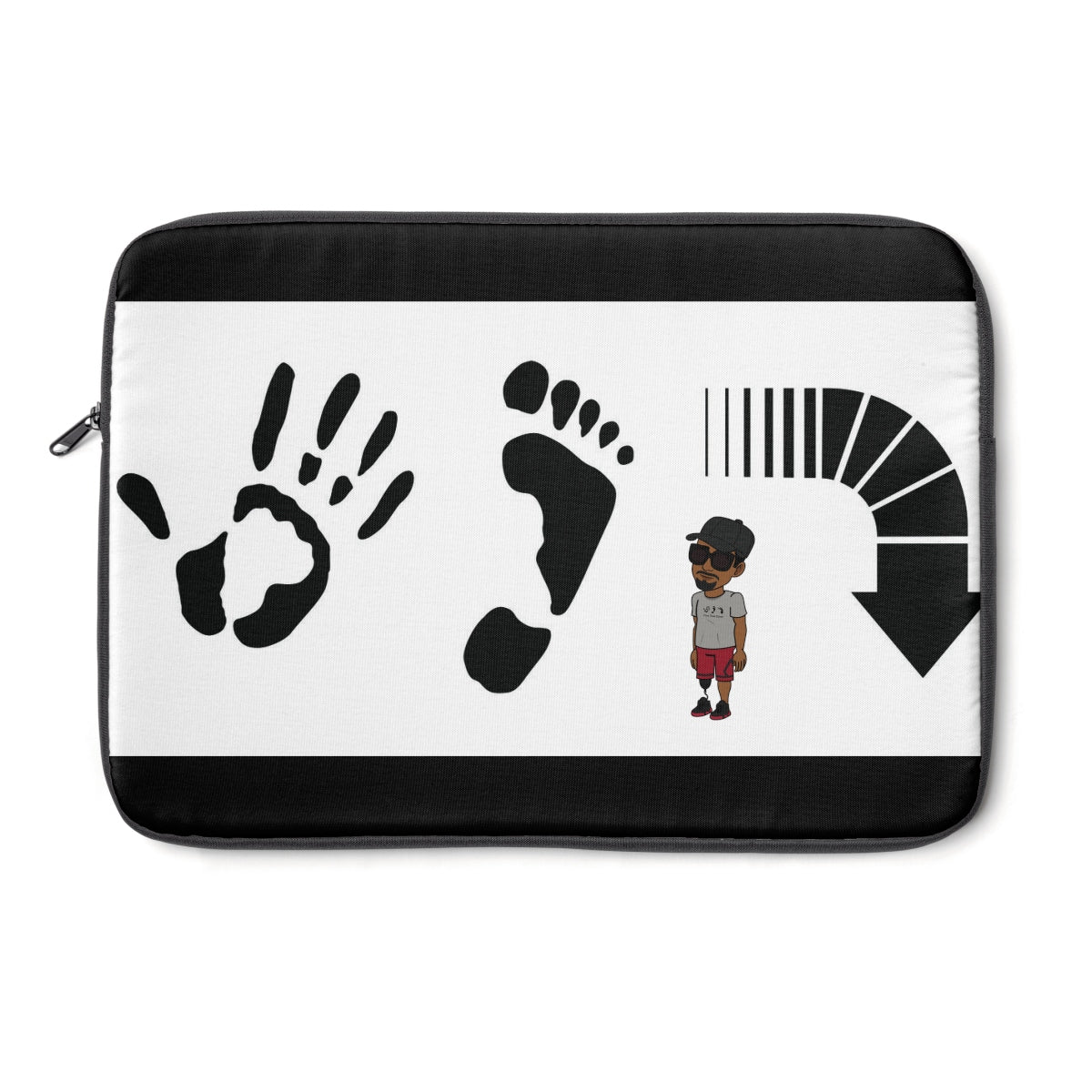 Five Toes Down Henry Laptop Sleeve