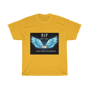 Five Toes Down R.i.p Left Leg Unisex Tee