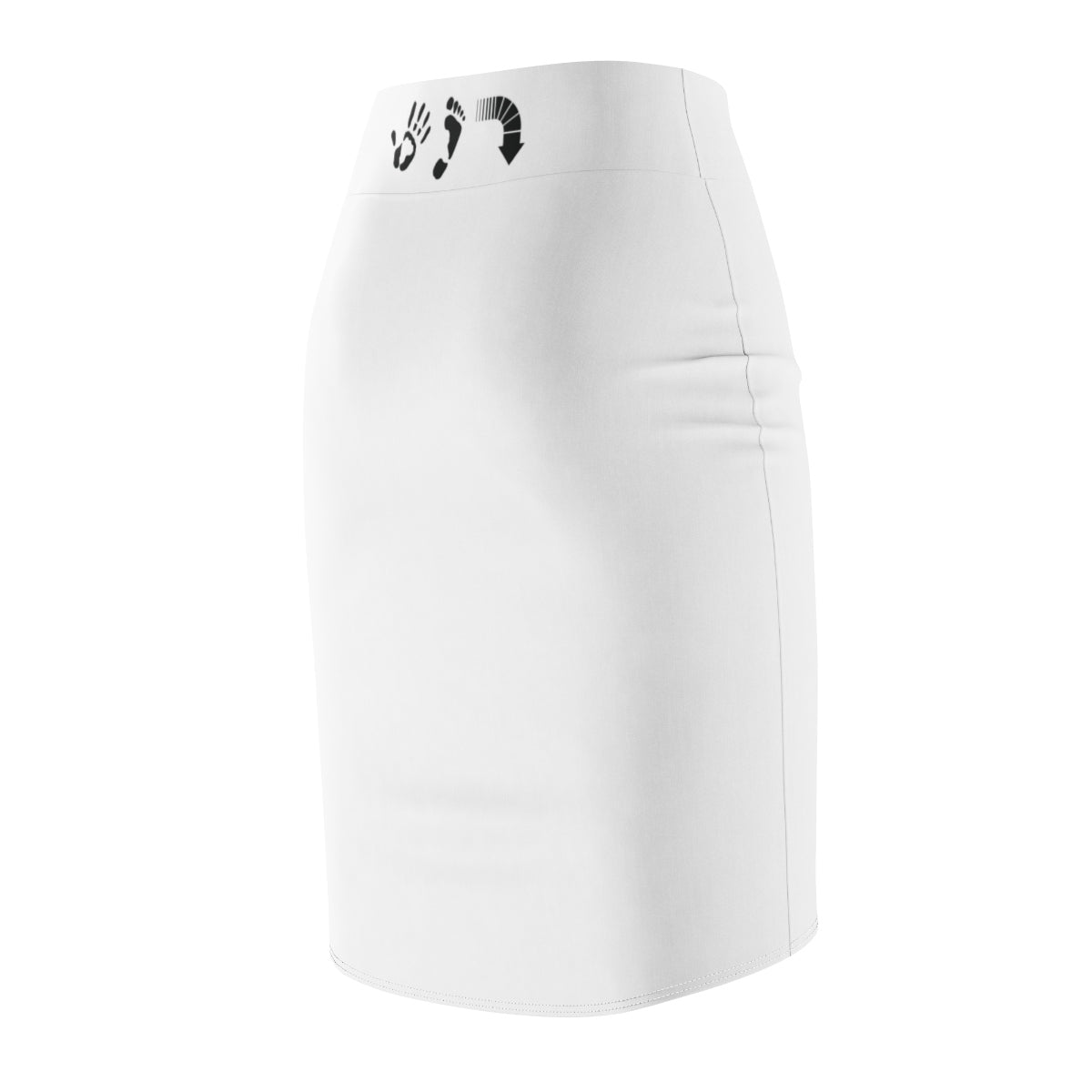 Five Toes Down SSS Women's Pencil Skirt