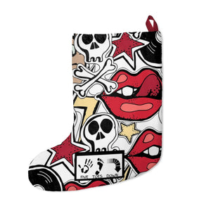 Five Toes Down Skull Christmas Stockings