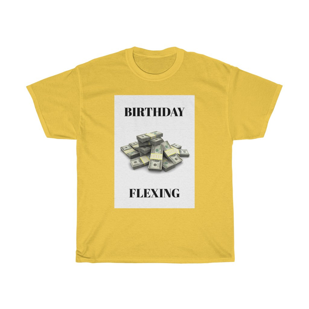 Five Toes Down Flexing Birthday Tee