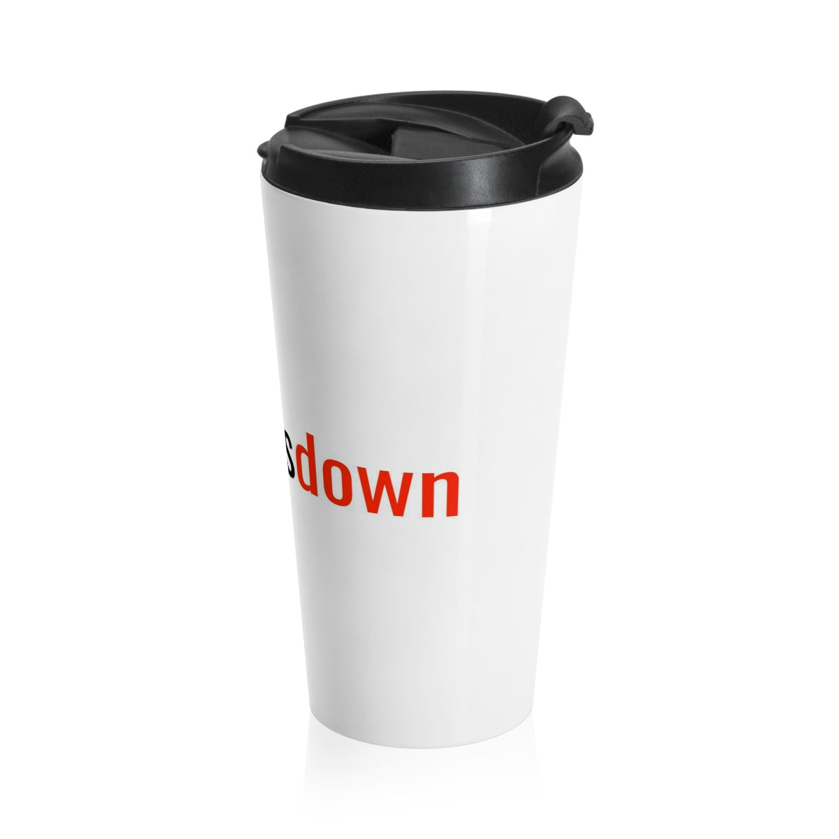 Five Toes Down # Stainless Steel Travel Mug