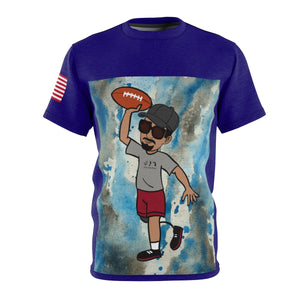 Five Toes Down Henry Football Unisex Cut & Sew Tee