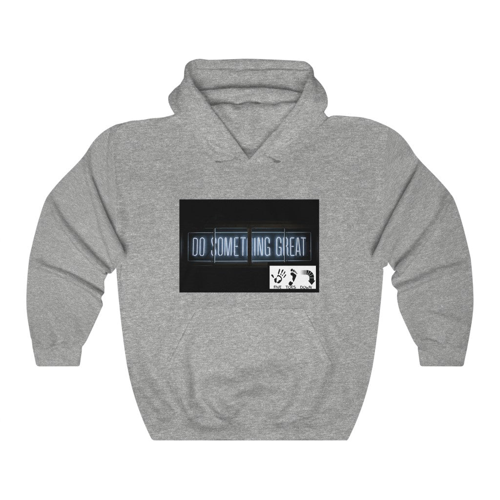 Five Toes Down Something Great Unisex Heavy Blend Hooded Sweatshirt