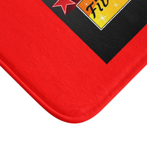 Five Toes Down Star Bath Mat