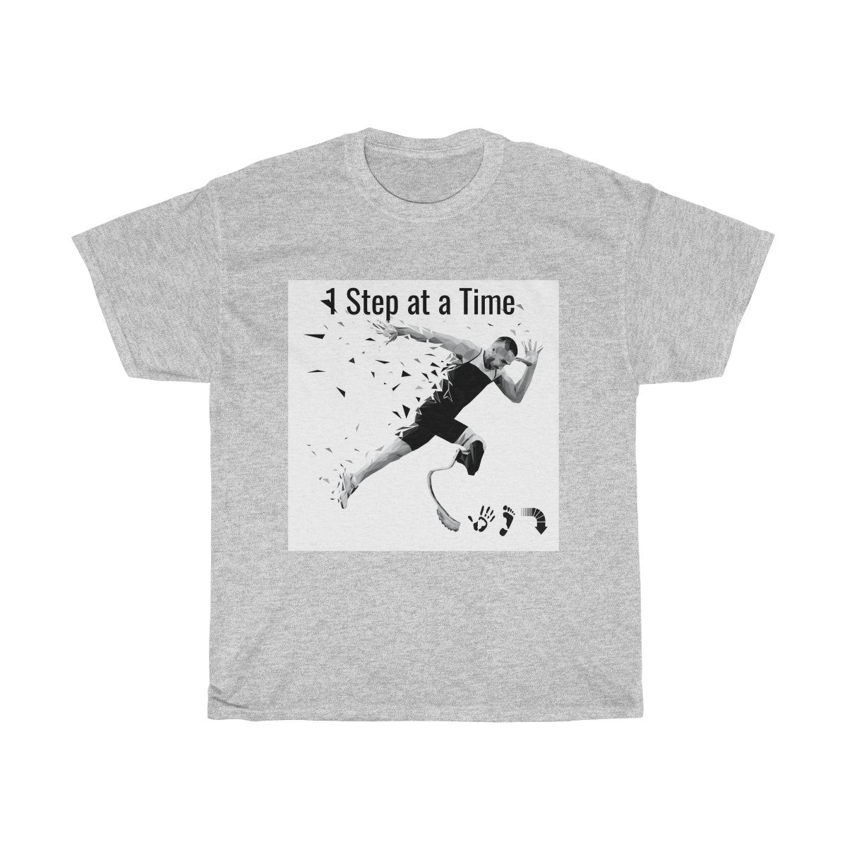 Five Toes Down 1 Step Unisex Tee