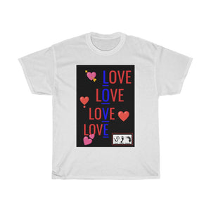 Five Toes Down Love Unisex Tee
