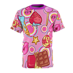 Five Toes Down Sweets Unisex Cut & Sew Tee