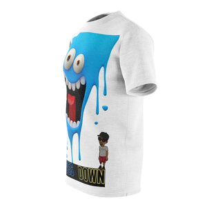 Five Toes Down Scream Unisex Cut & Sew Tee