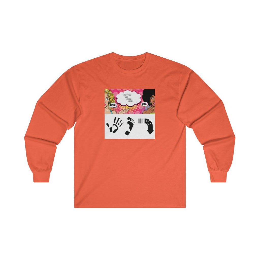 Five Toes Down Sexy Long Sleeve Tee