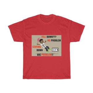Five Toes Down Fell No Problem Unisex Tee