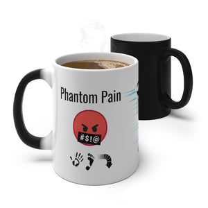 Five Toes Down Pain.2 Color Changing Mug