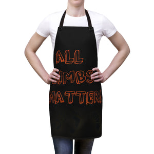 Five Toes Down All Limbs Matter Apron