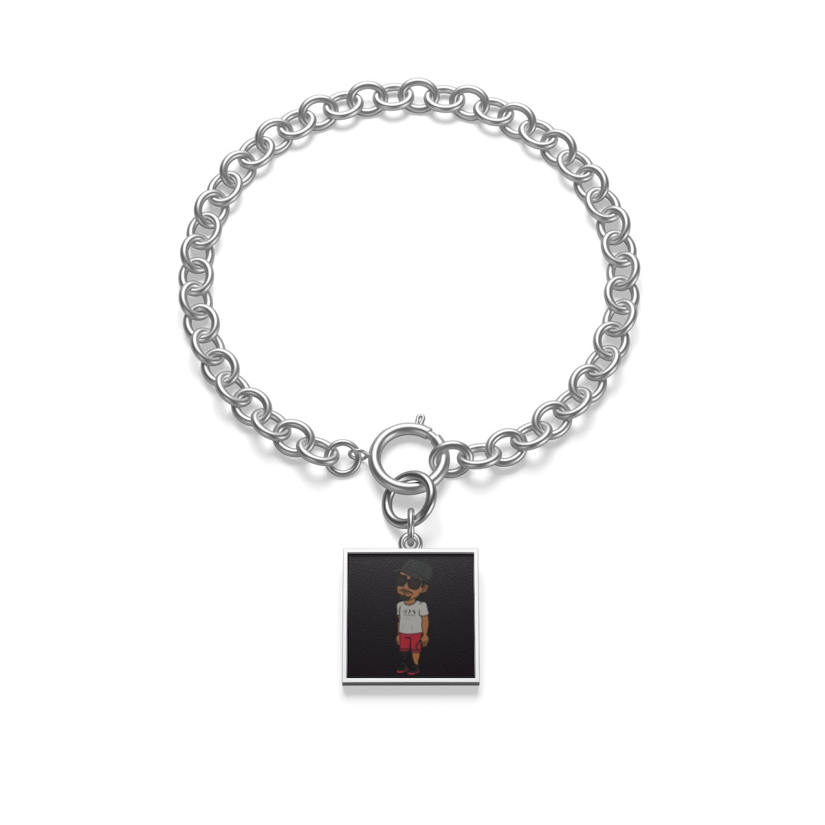 Five Toes Down Henry the Amputee Chunky Chain Bracelet