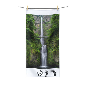 Five Toes Down Waterfall Polycotton Towel