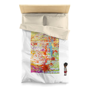 Five Toes Down Drip Microfiber Duvet Cover