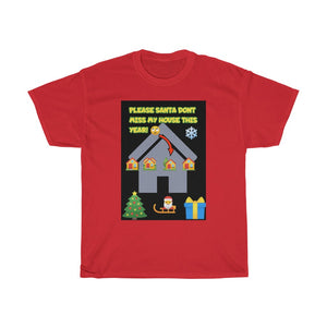 Five Toes Down My House Christmas Unisex Tee