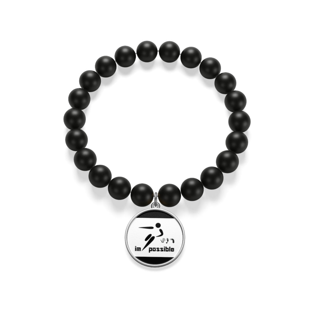 Five Toes Down Possible Matte Onyx Bracelet