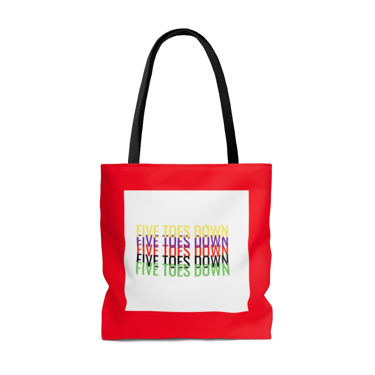 Five Toes Down Inner Self Tote Bag