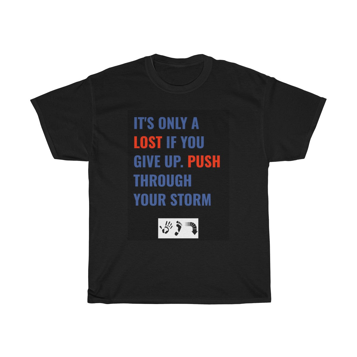 Five Toes Down Push Through Unisex Tee