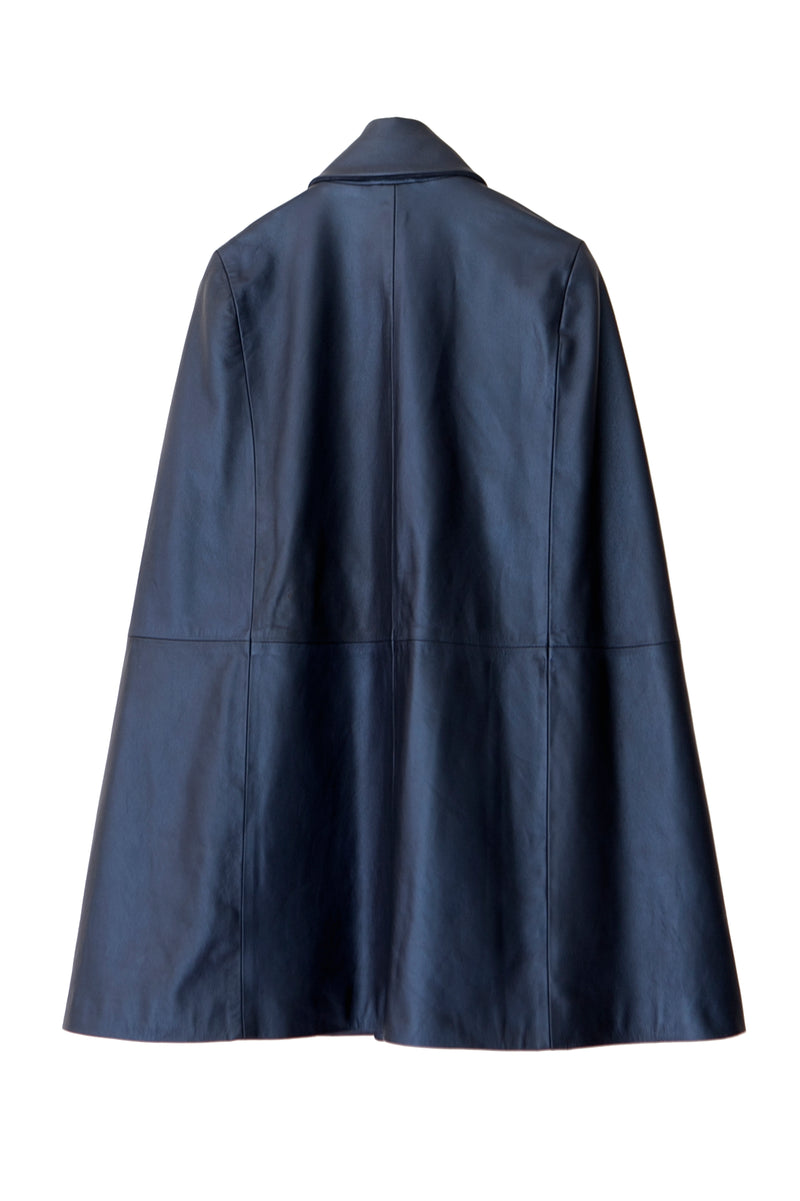 Cape- Military Style | Petrol Blue