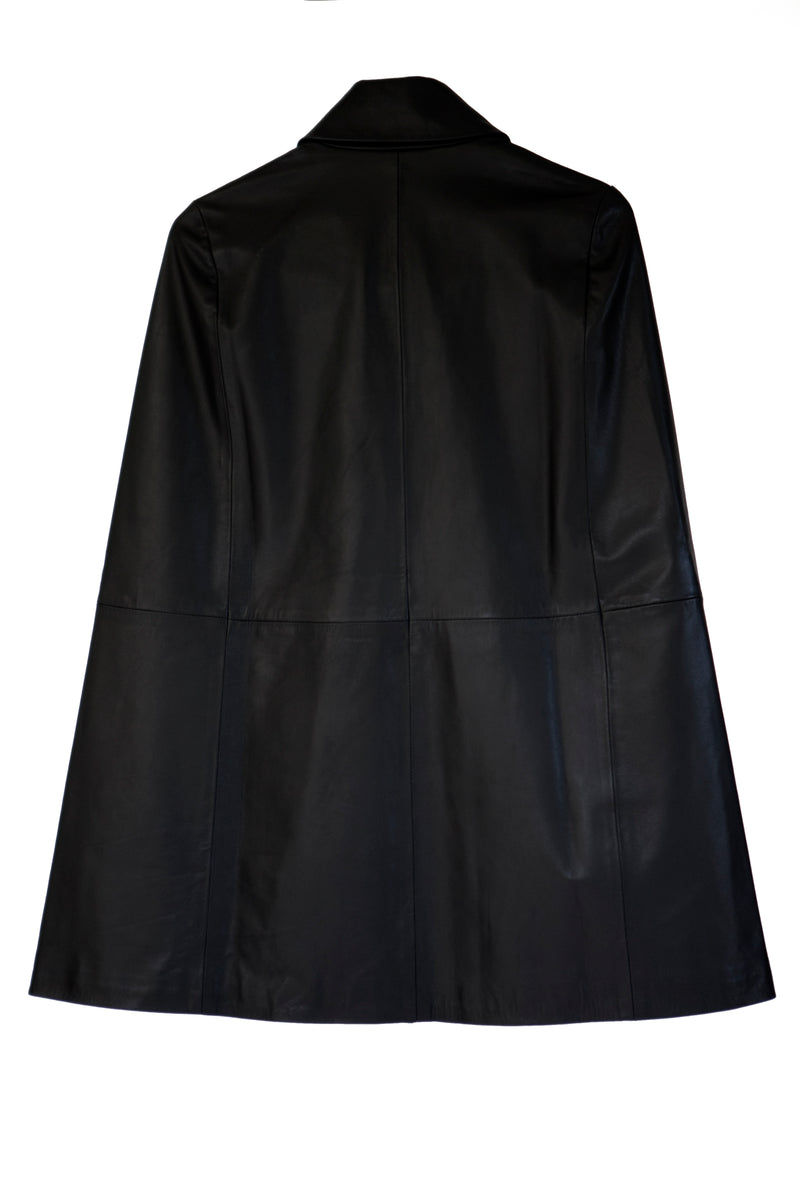 Cape-Military Style | Black