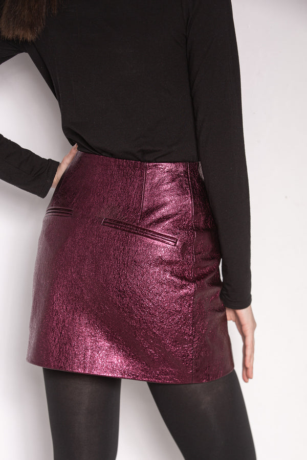 Mini Skirt | Prune