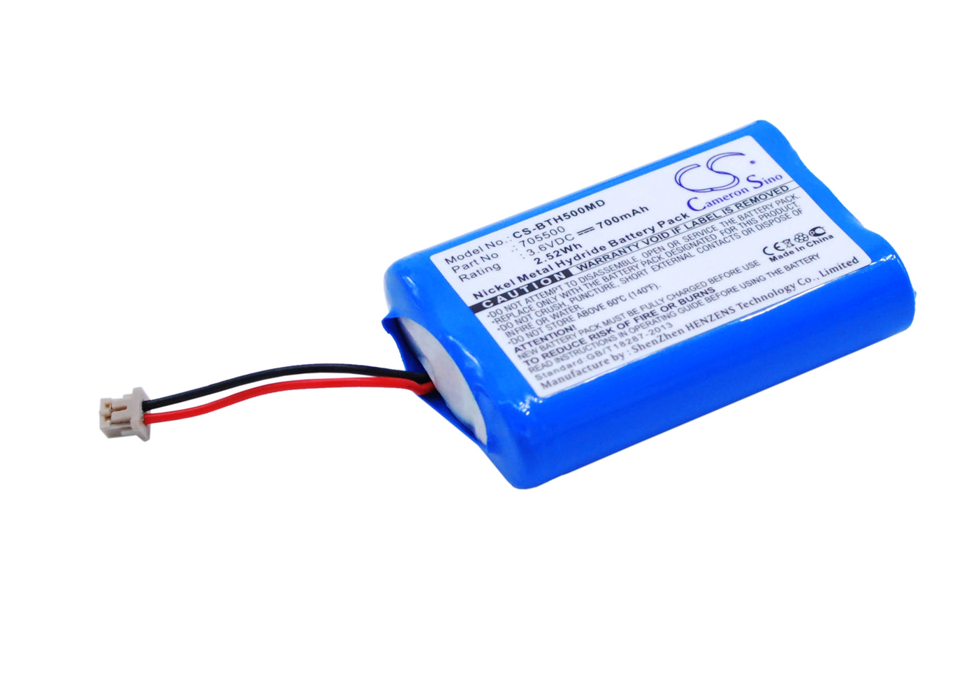CS-BTH500MD Cameron Sino Battery