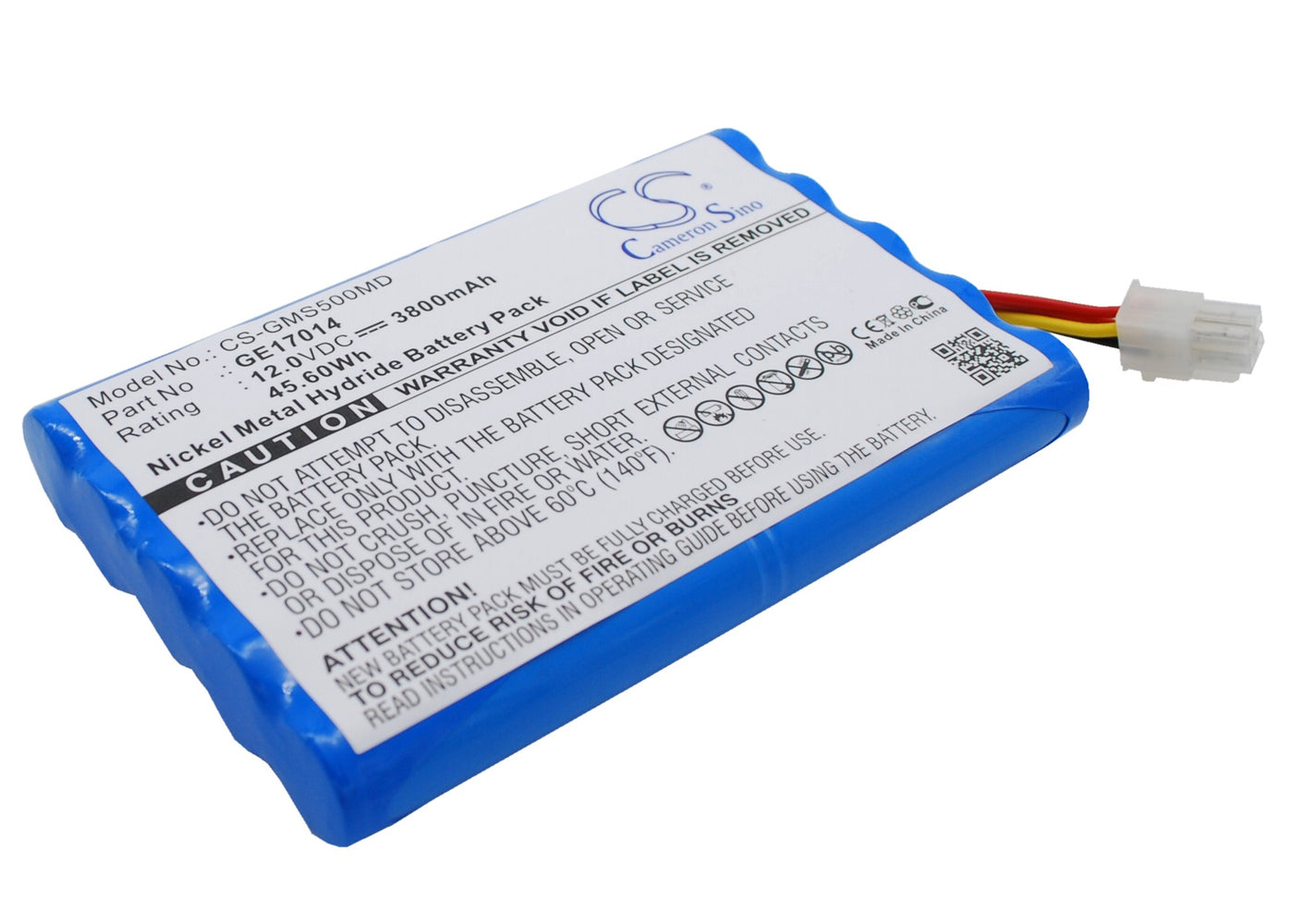 CS-GMS500MD Cameron Sino Battery