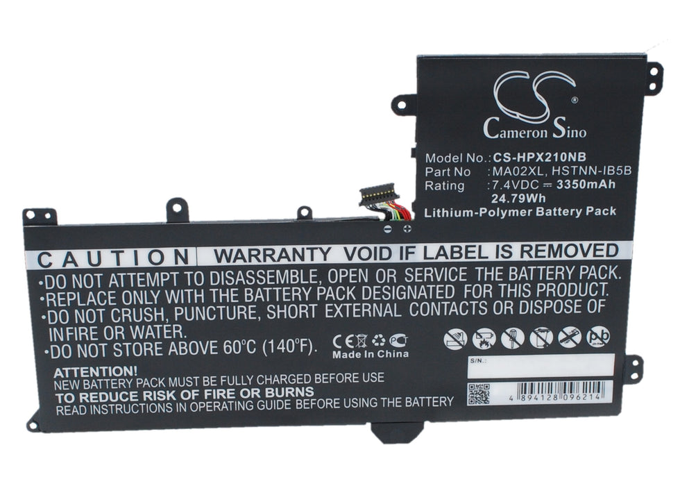 CS-HPX210NB Cameron Sino Battery