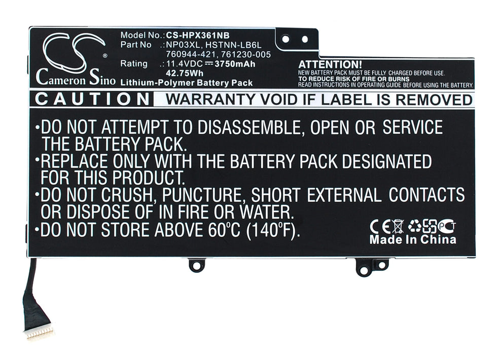 CS-HPX361NB Cameron Sino Battery