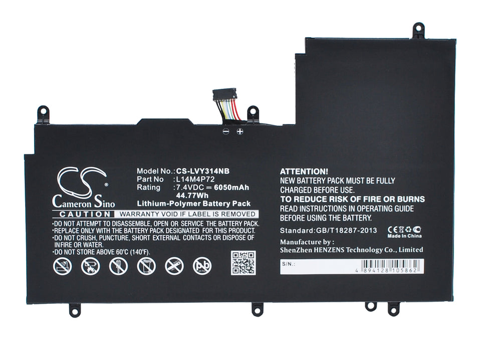 CS-LVY314NB Cameron Sino Battery