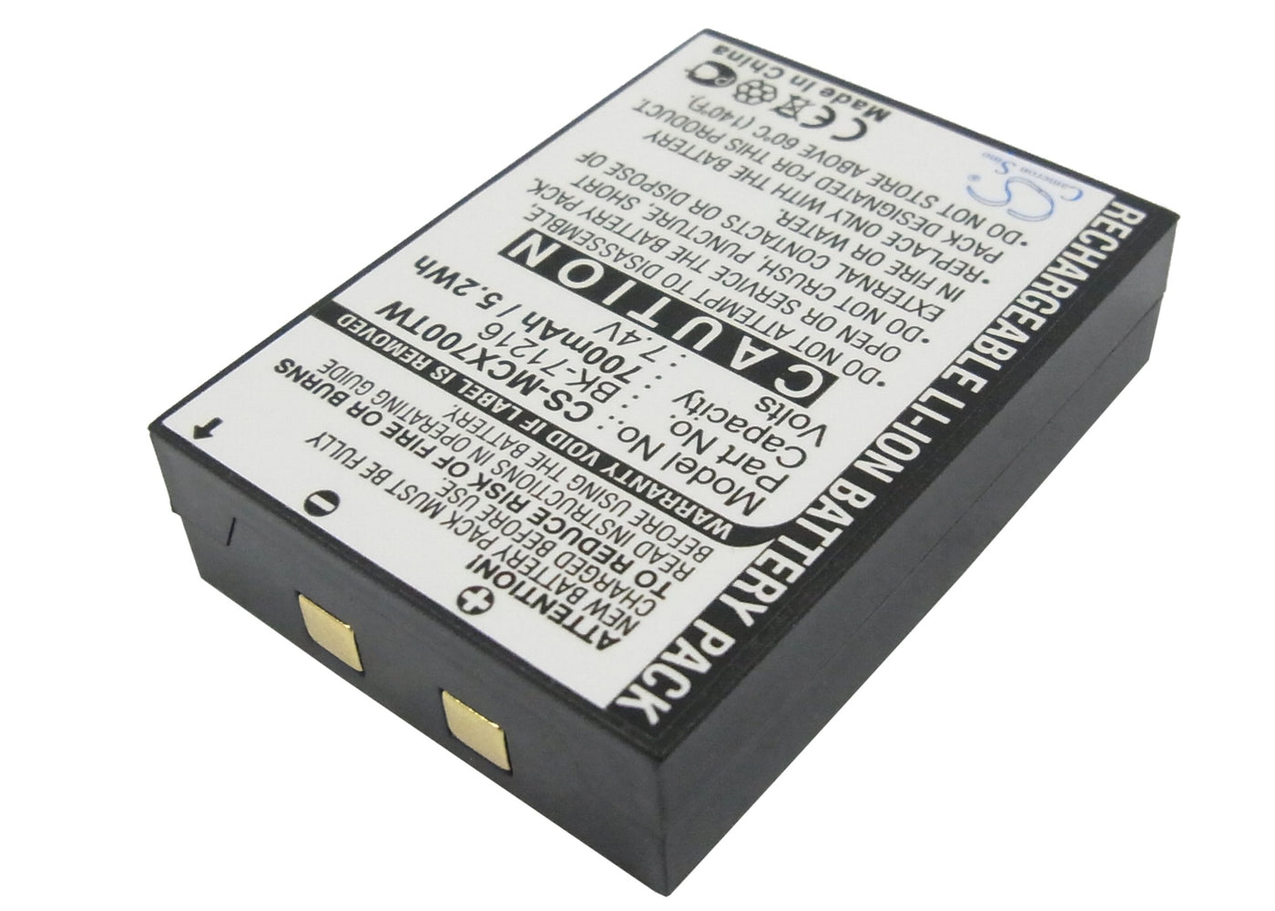 CS-MCX700TW Cameron Sino Battery