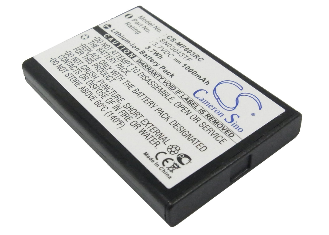 CS-MF603RC Cameron Sino Battery