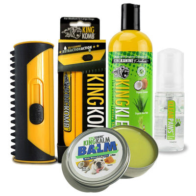 KING KOMB, KING KLEAN SHAMPOO, KING BALM & KLEAN PAWS - Ultimate Kombo - KING KOMB™