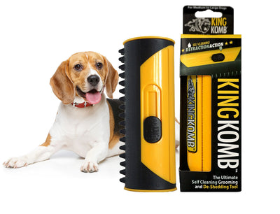 KING KOMB™ DeShedding Tool For Poodles - KING KOMB™