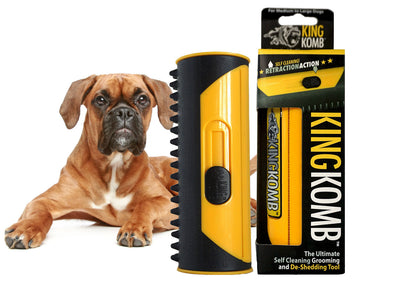 KING KOMB™ DeShedding Tool For Boxers - KING KOMB™