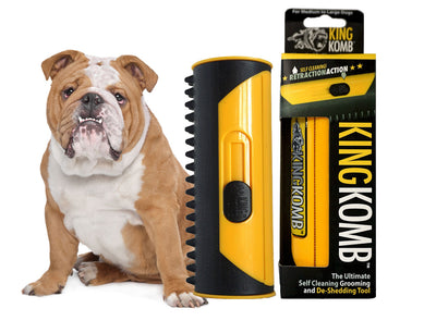 KING KOMB™ DeShedding Tool For Bulldogs - KING KOMB™