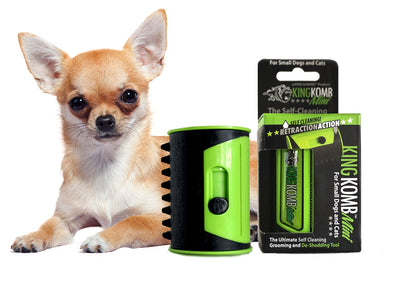 KING KOMB™ MINI DeShedding Brush For Chihuahuas - KING KOMB™