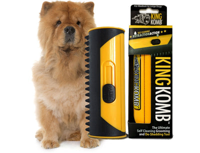 KING KOMB™ DeShedding Tool For Chow Chows - KING KOMB™