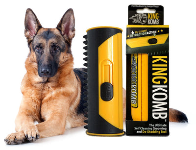 KING KOMB™ DeShedding Tool For German Shepherds - KING KOMB™