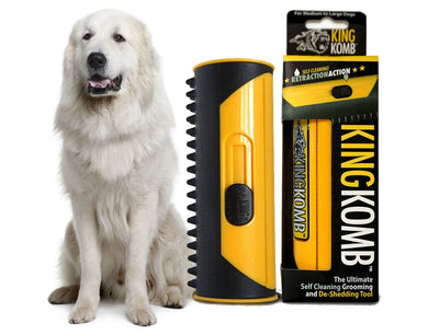 KING KOMB™ Great Pyrenees Deshedding & Grooming Tool - KING KOMB™