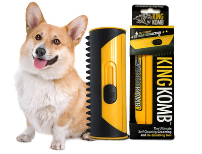 KING KOMB™ DeShedding Tool For Corgis - KING KOMB™