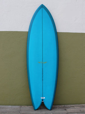 5'8 Tyler Warren Dream Fish - Turquoise