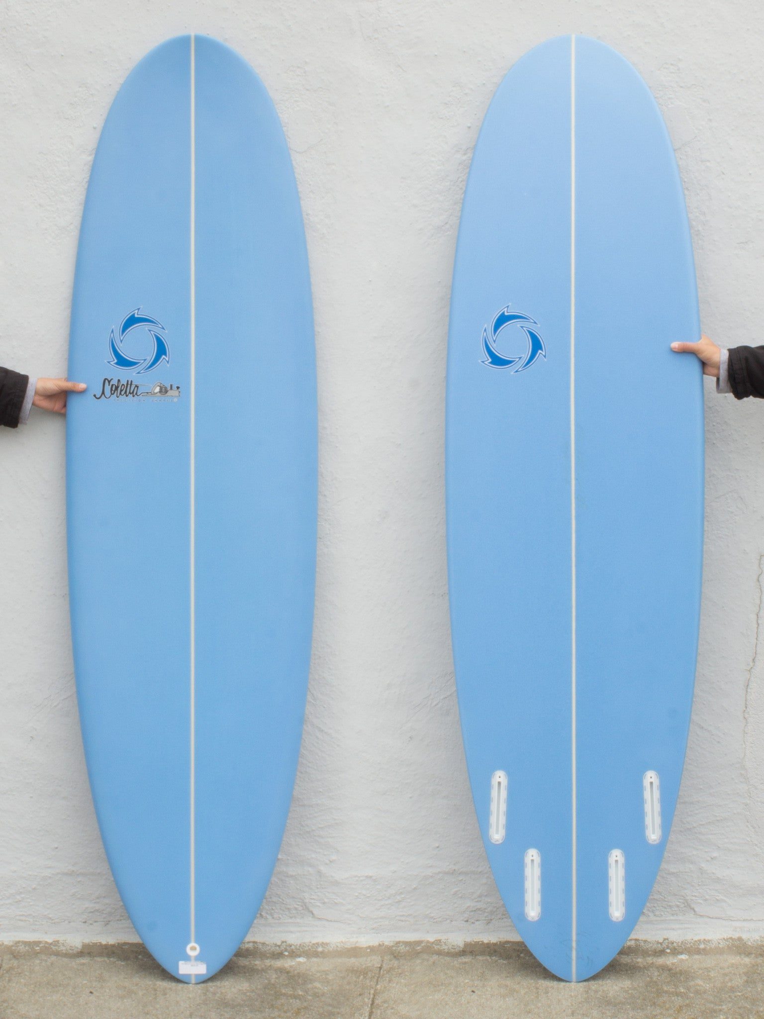 6'4 Natural Curves Stub Egg Quad