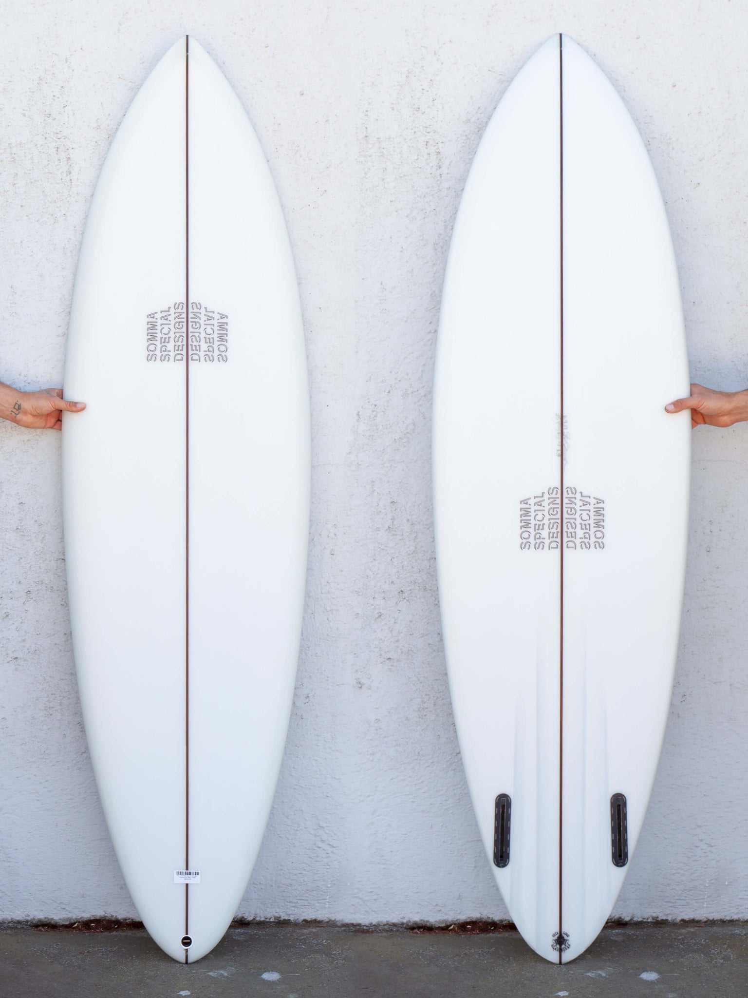 6'4 Somma Special Designs Round Pin Twin - Volan